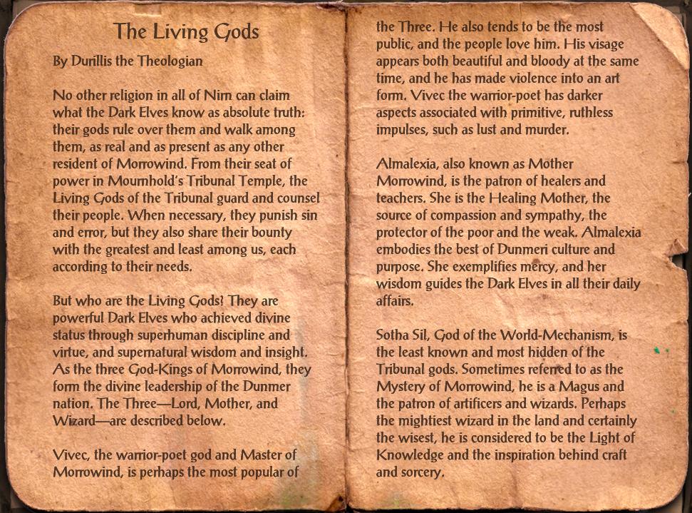The Living Gods