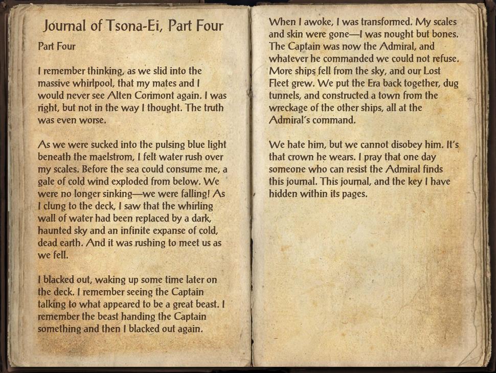 Journal of Tsona-Ei, Part Four