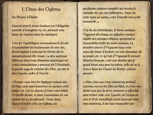 L'Onus des Oghma