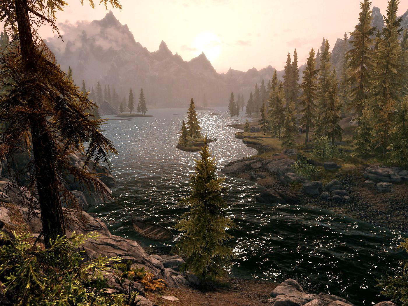 Озеро Илиналта