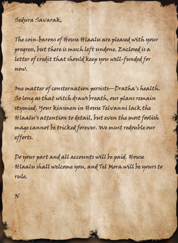 Letter to Savarak