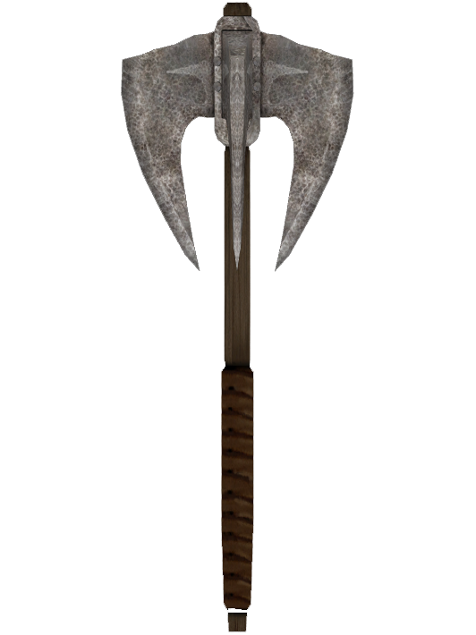 Rusty Iron Mace