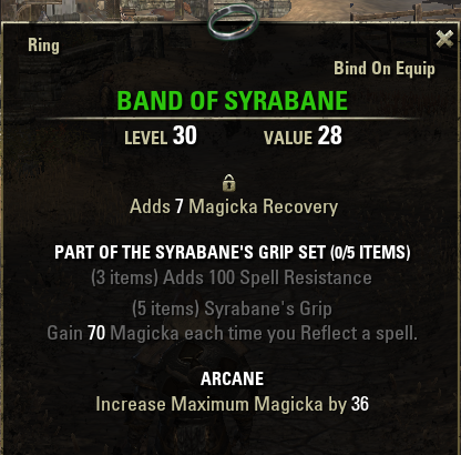 Syrabane's Grip