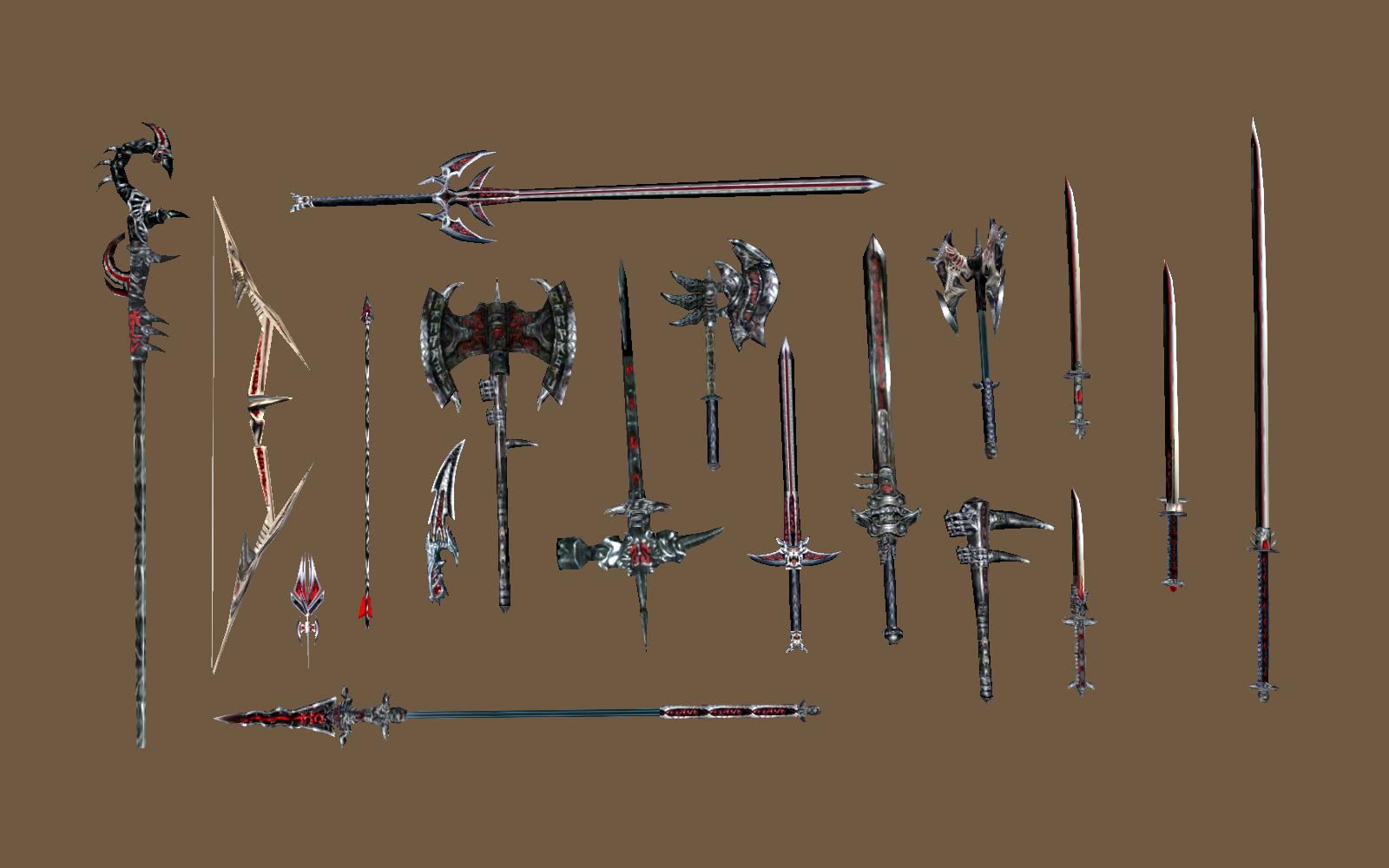 Даэдрическое оружие (Morrowind)