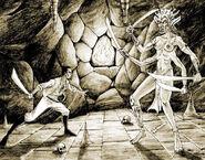 Cyrus vs Shedemon (Conceptart) by John Pearson