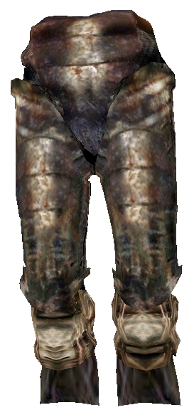 Iron Greaves (Morrowind)