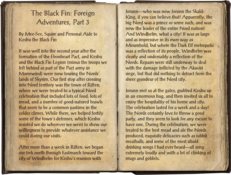 The Black Fin: Foreign Adventures, Part 3