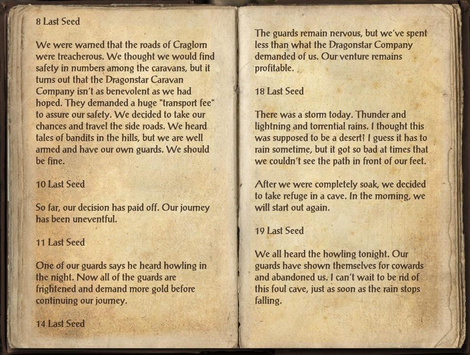 Waylaid Traveler's Journal