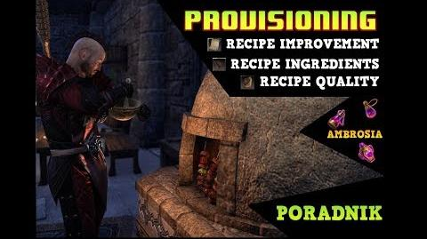 ESO Cooking Fire Provisioning