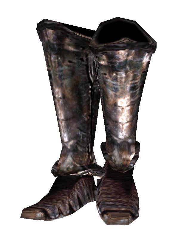 Iron Boots (Morrowind)