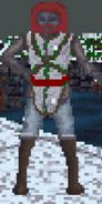 Mężczyzna z Morrowind podczas zimy (Arena)