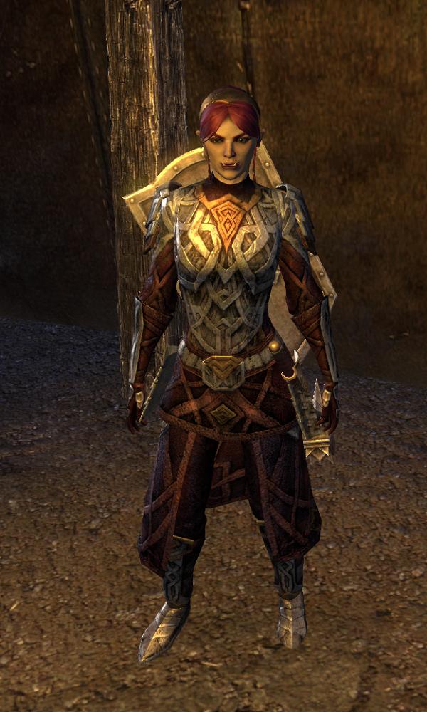Shield-Wife Oshgana