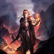 Altmer Dragonknight card art