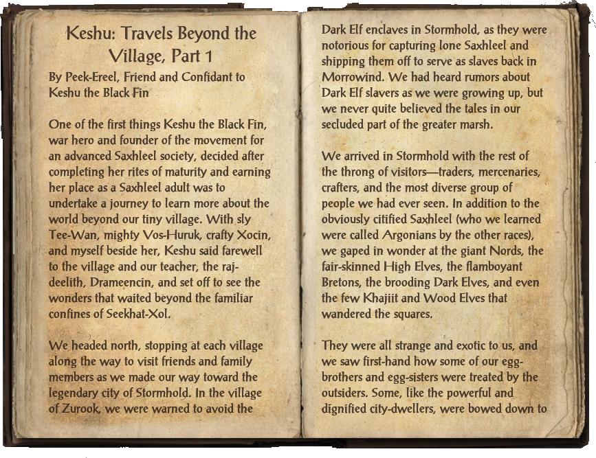 Keshu: Travels Beyond the Village, Part 1