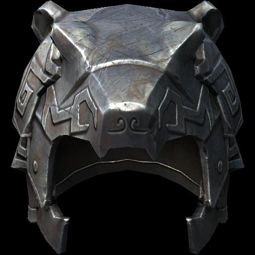 Нордский резной шлем