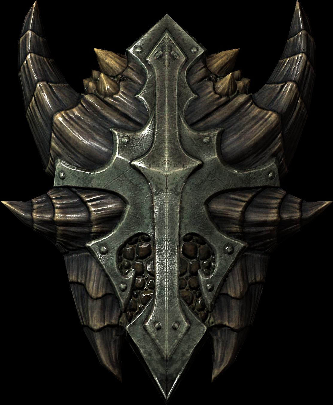 Escudo de escamas de dragón