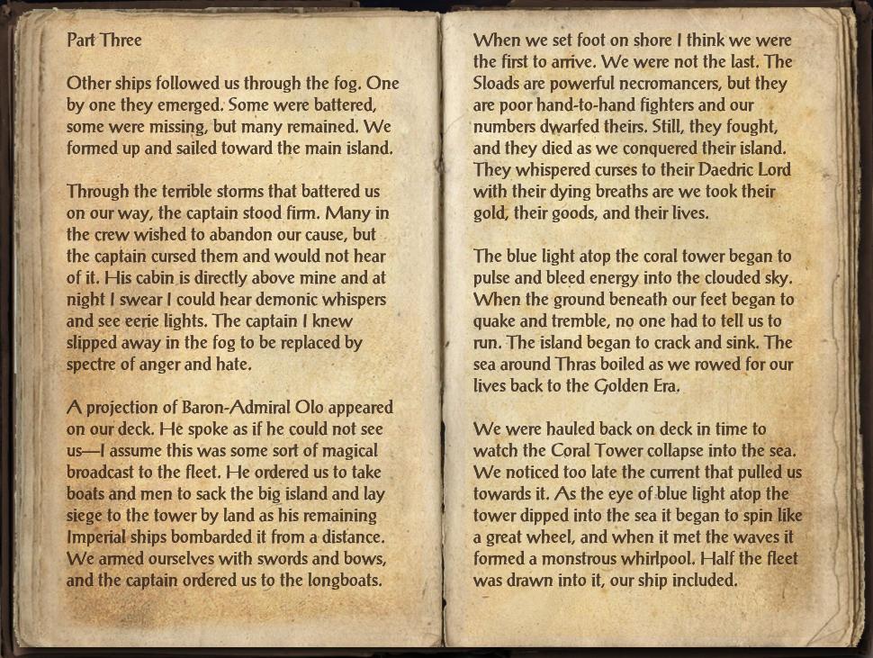 Journal of Tsona-Ei, Part Three