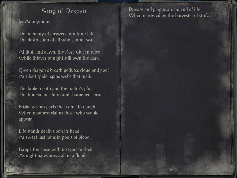 Song of Despair