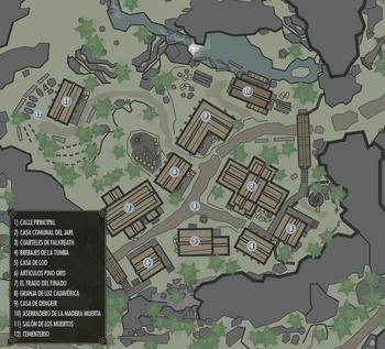 Mapa de la ciudad en la CE