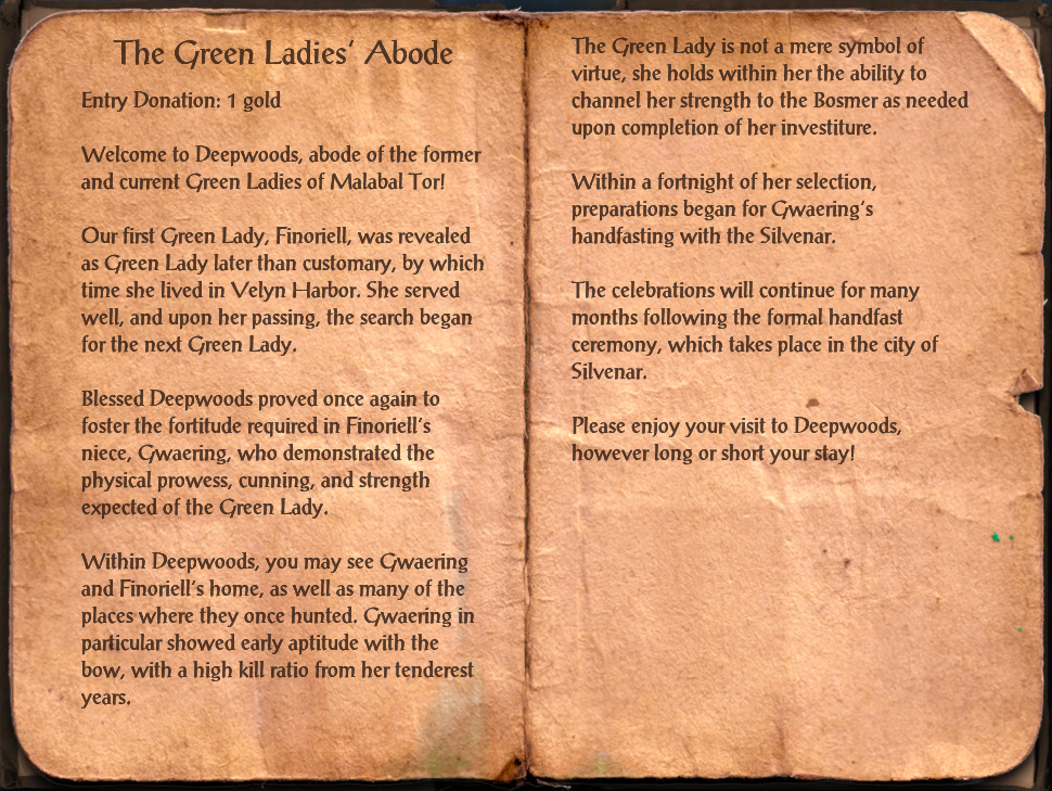 The Green Ladies' Abode