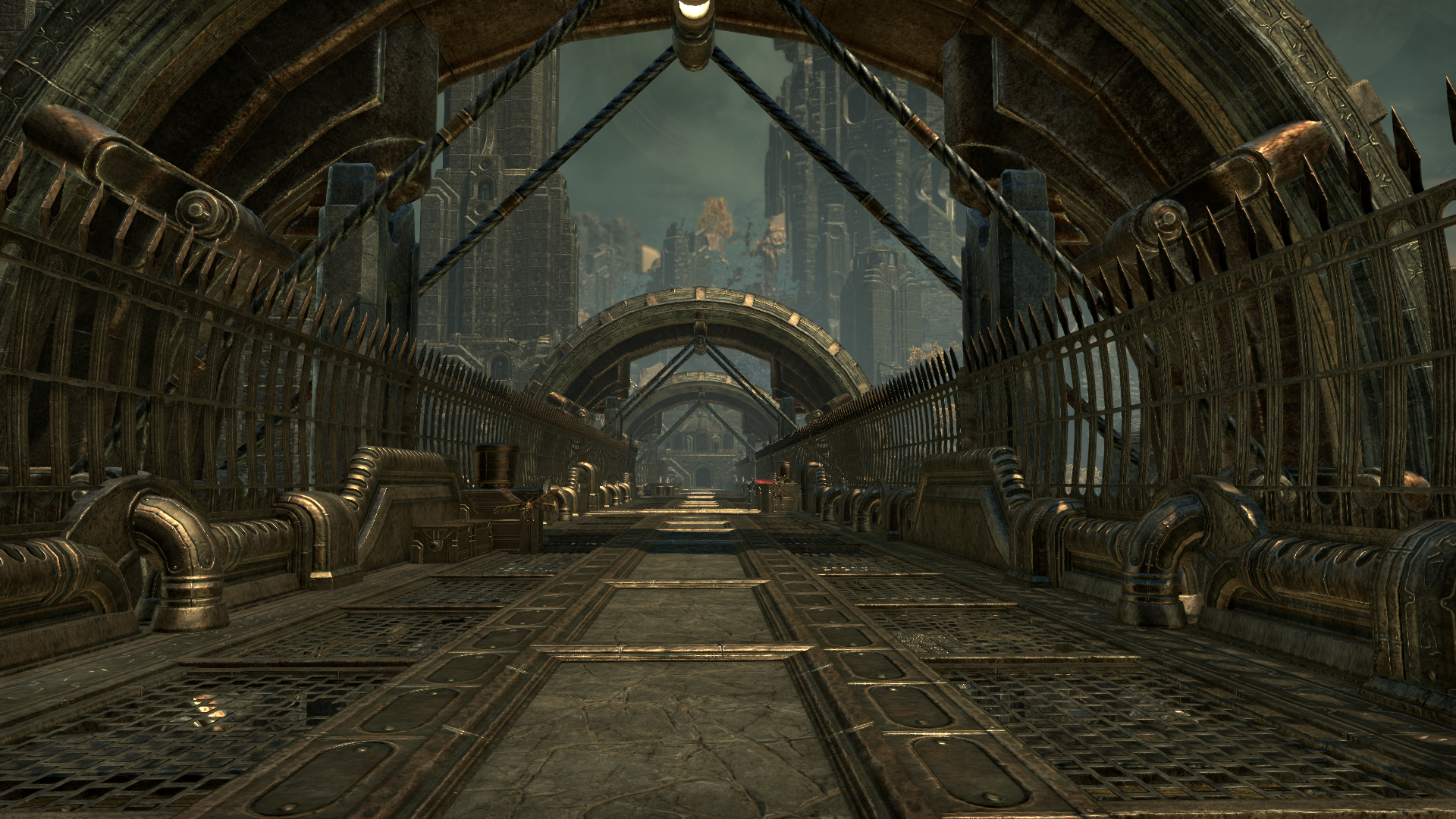 Переходный мост