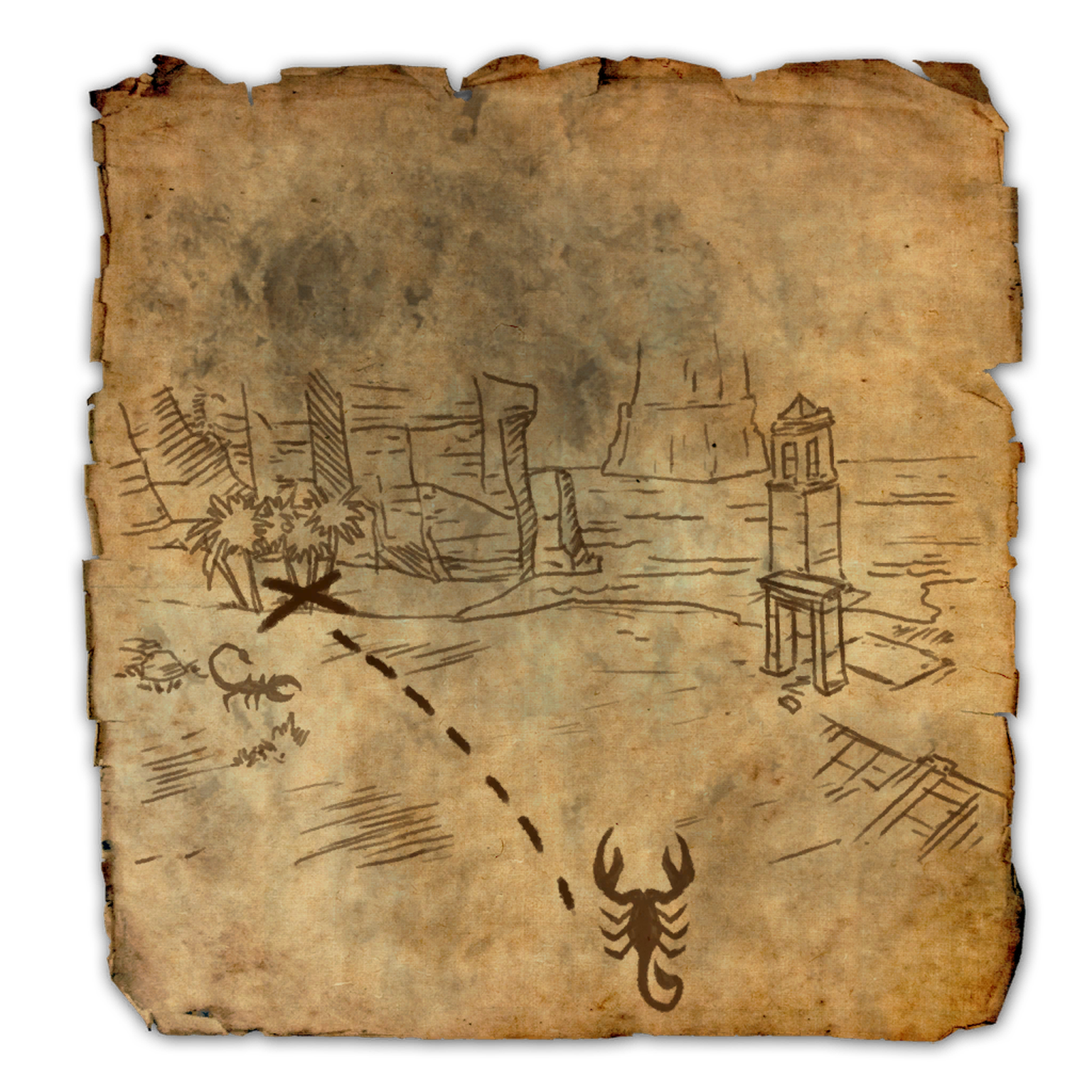 Alik'r Treasure Map II