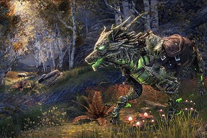 Wild Hunt Wolf
