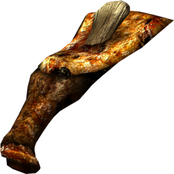 Зажаренная нога быка
