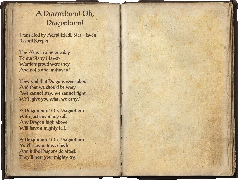 A Dragonhorn! Oh, Dragonhorn!