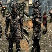 Dragonscale Armor Elder Scrolls Fandom Check it out if you like high res armor and you though the dragon plate helm needed some damn horns! dragonscale armor elder scrolls fandom