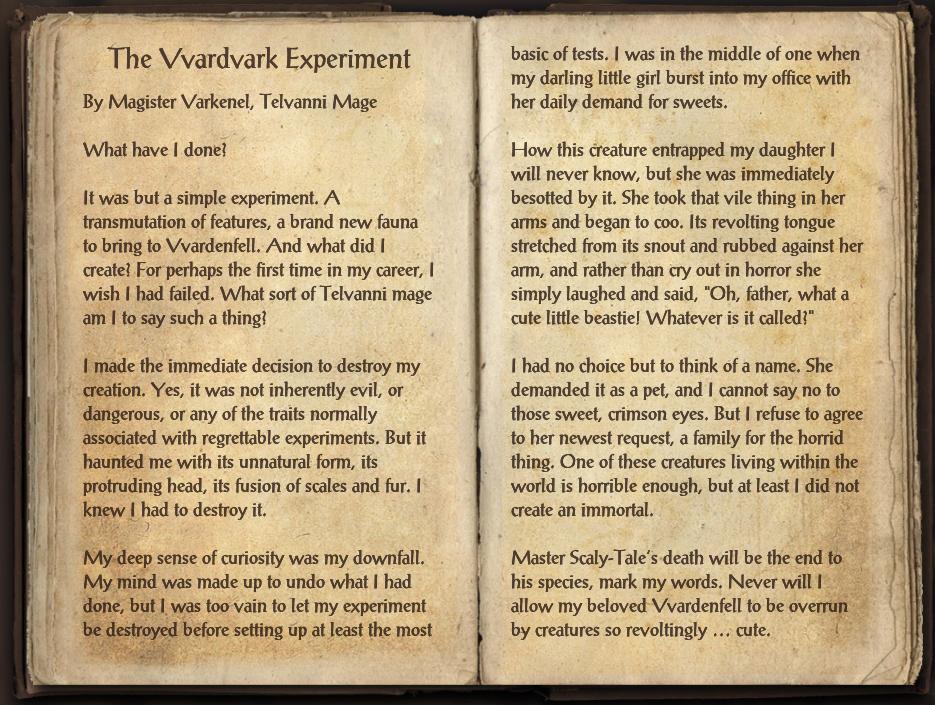 The Vvardvark Experiment