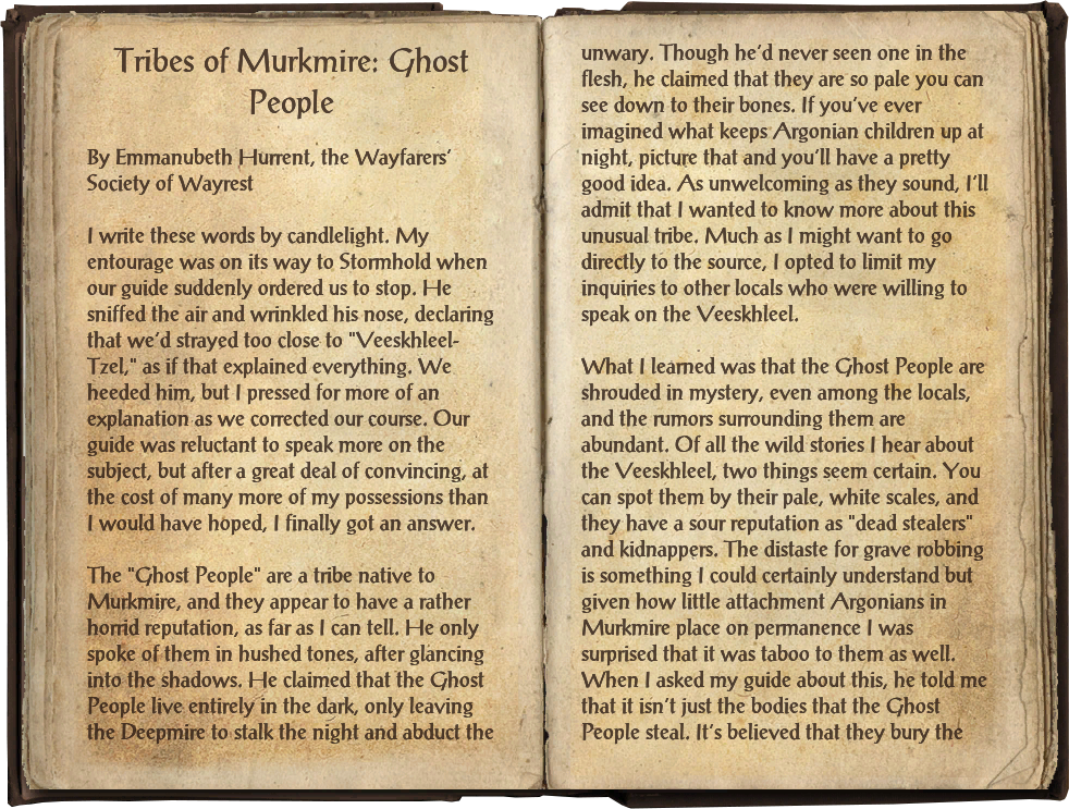 Tribes of Murkmire: Ghost People