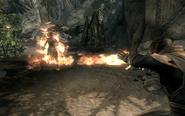Flames at Bandit