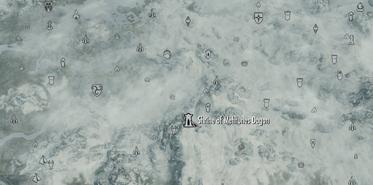 Shrine of Mehrunes Dagon Map