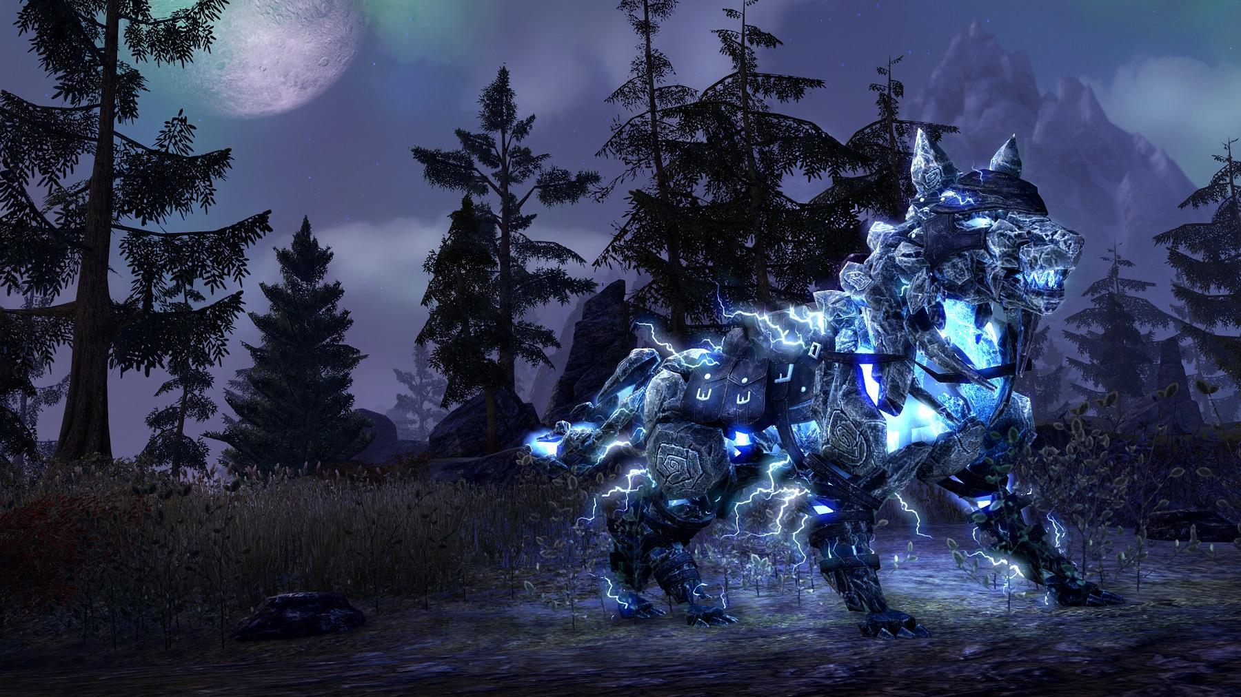 Storm Atronach Wolf