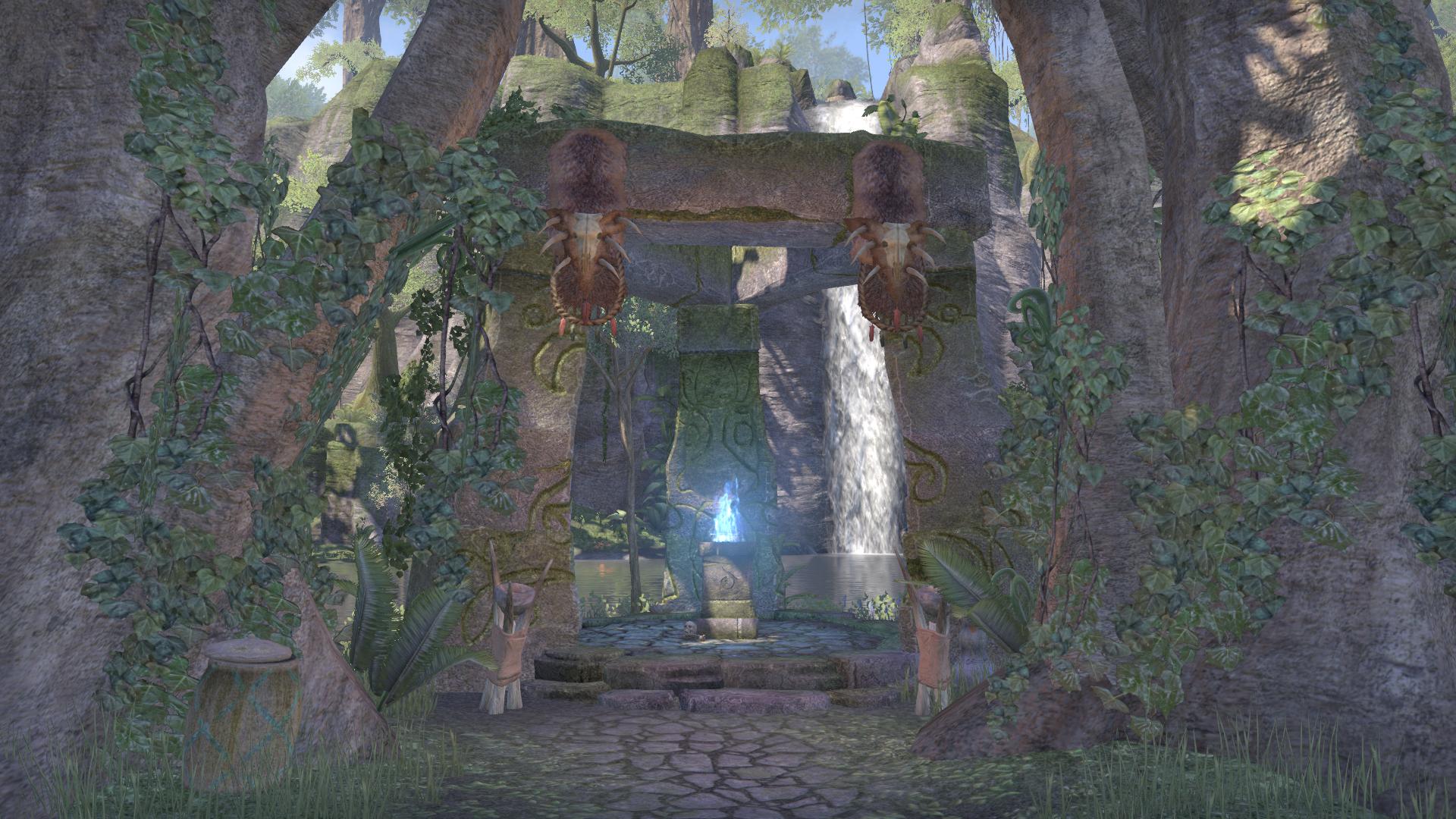 Дорожное святилище храма Элден-Рута
