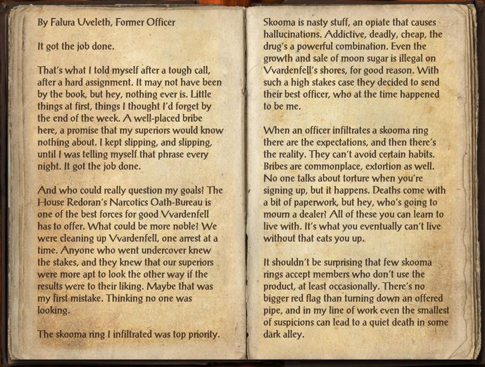 Journal of a Fallen Officer