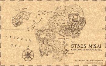 Карта Строс М'кая