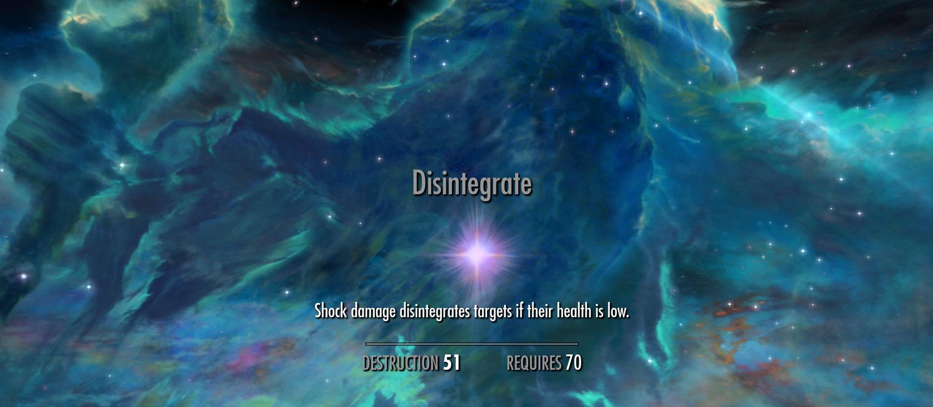 Disintegrate (Skyrim)