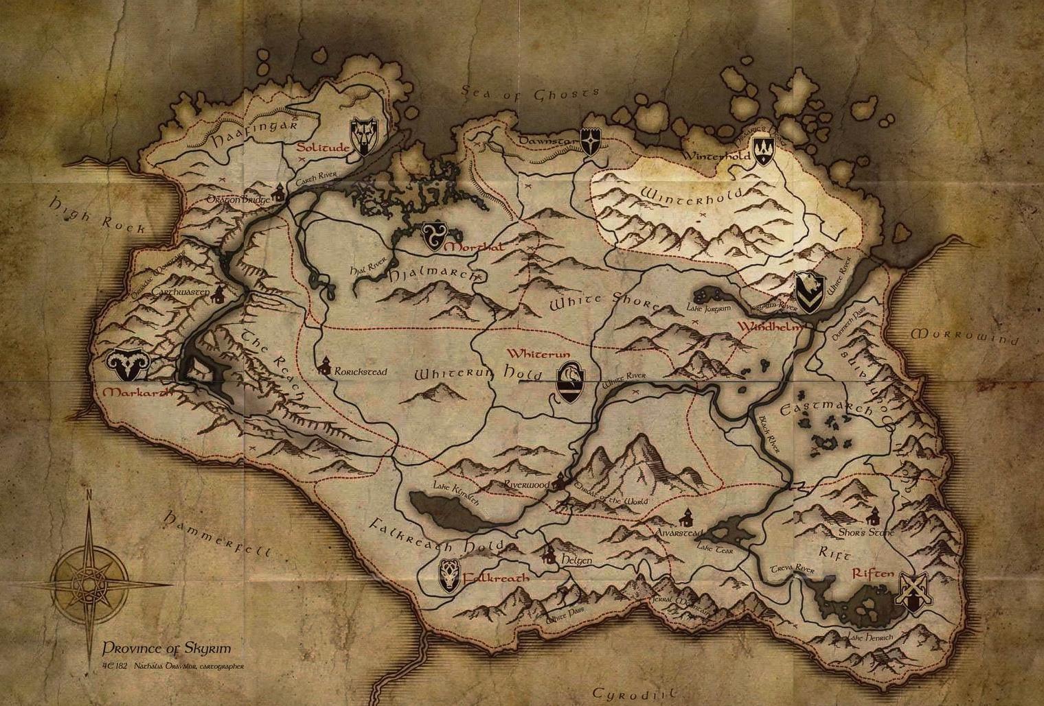Comarca de Hibernalia (Skyrim)