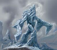 Atronach mrozu 3 (Conceptart) by Adam Adamowicz