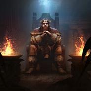 Jorunn the Skald-King card art