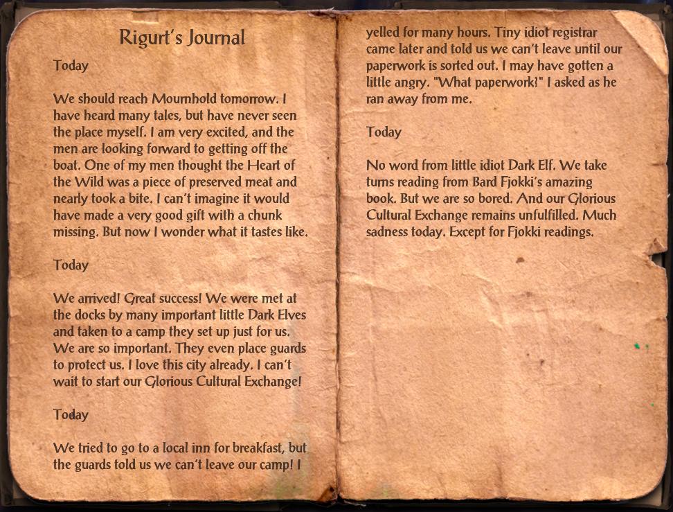 Rigurt's Journal