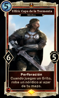 Cartas legendarias