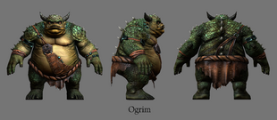 Огрим (модель TES Online)