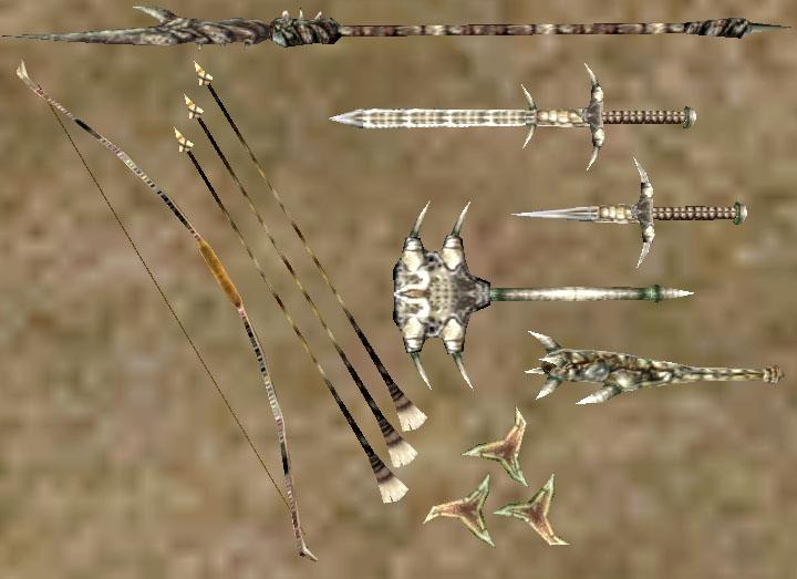 Хитиновое оружие (Morrowind)
