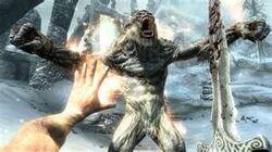 Frost Troll Fighting the Dragonborn.jpg