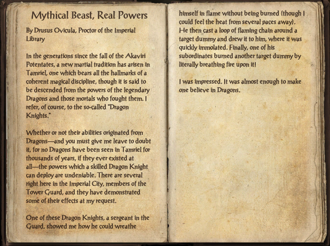 Mythical Beast, Real Powers