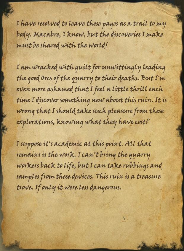 Neramo's Journal, Page 2