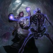 Prophet of Bones card art
